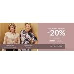 Quiosque: Szaleństwo Zakupów 20% rabatu na nową kolekcję odzieży damskiej