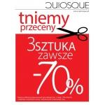 Quiosque: 70% zniżki na trzecią rzecz