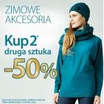Quiosque: 50% zniżki na drugą sztukę zimowych akcesoriów
