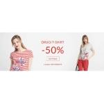 Quiosque: 50% rabatu na drugi t-shirt damski