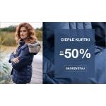 Quiosque: do 50% zniżki na ciepłe kurtki