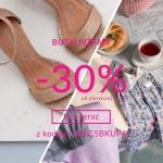 Quiosque: 30% zniżki na buty i piżamy damskie