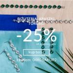 Quiosque: 25% rabatu na biżuterię, apaszki i torebki