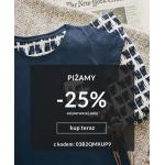 Quiosque: 25% rabatu na piżamy