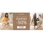 Quiosque: 50% zniżki na sukienki damskie z nowej kolekcji