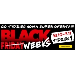 Black Friday RTV EURO AGD: Black Weeks Tydzień 1 - co tydzień nowa super oferta