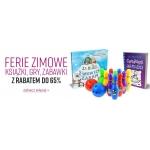 Ravelo: do 65% rabatu na książki, gry i zabawki na ferie zimowe
