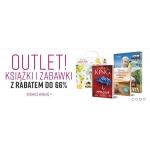 Ravelo: do 66% rabatu na książki i zabawki z kategorii Outlet