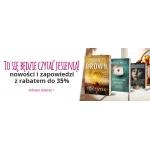 Ravelo: do 35% rabatu na nowości i zapowiedzi książek