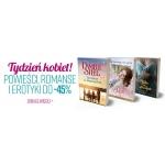Ravelo: do 45% rabatu na powieści, romanse i erotyki