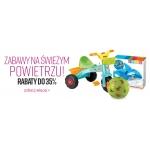 Ravelo: do 35% zniżki na zabawki na świeże powietrze