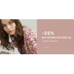 Reserved: 25% zniżki na nową kolekcję odzieży damskiej, męskiej oraz dziecięcej