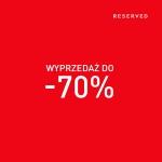 Reserved: wyprzedaż do 70%