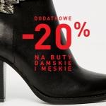Reserved: dodatkowe 20% zniżki na buty damskie i męskie