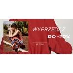 Reserved: wyprzedaż do 70% zniżki na odzież damską, męską i dziecięcą