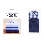 Reserved: 30% zniżki na koszule męskie