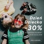 Reserved: 30% rabatu na wybrane modele odzieży dla dzieci na Dzień Dziecka