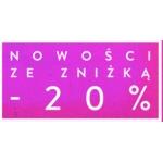 Risk: 20% rabatu na odzież damską z najnowszej kolekcji