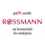Rossmann: 49% zniżki na kosmetyki do makijażu