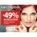Rossmann: 49% zniżki na wybrane produkty