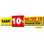 RTV EURO AGD: 10% rabatu na 10 najpopularniejszych produktów