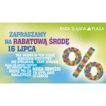 Rabatowa Środa w Ruda Śląska Plaza 16 lipca 2014