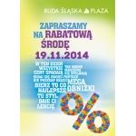 Rabatowa Środa w Ruda Śląska Plaza 19 listopada 2014