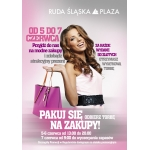 Pakuj się na zakupy! Ruda Śląska Plaza 5-7 czerwca 2014