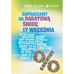 Rabatowa Środa 17 września 2014 w Ruda Śląska Plaza
