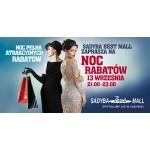Noc Rabatów w Sadyba Best Mall w Warszawie 13 września 2014