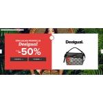Sarenza: do 50% rabatu na obuwie i torebki marki Desigual