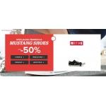 Sarenza: do 50% rabatu na obuwie marki Mustang
