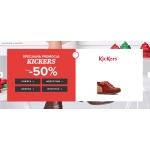 Sarenza: do 50% rabatu na obuwie marki KicKers