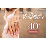 Savicki: do 40% rabatu na pierścionki zaręczynowe