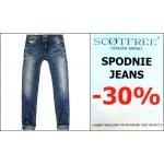 Scotfree: 30% zniżki na spodnie Jeans