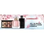 Sephora: 20% zniżki na makijaż i perfumy