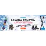 Snow Shop: wyprzedaż do 60% zniżki na odzież zimową, narty, deski snowboardowe