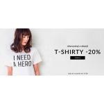 Showroom: 20% zniżki na t-shirty