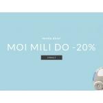 Showroom Kids: 20% zniżki na markę Moi Mili