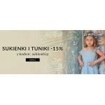 Showroom Kids: sukienki 15% taniej