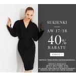 Simple: 40% rabatu na sukienki z kolekcji jesień-zima 2017/2018