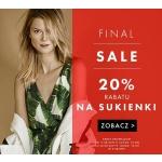 Simple: dodatkowe 20% zniżki na sukienki z wyprzedaży