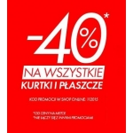 Sinsay: 40% zniżki na kurtki i płaszcze
