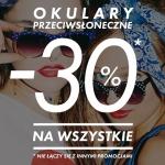 Sinsay: 30% zniżki na okulary przeciwsłoneczne