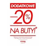 Sinsay: dodatkowe 20% zniżki na buty