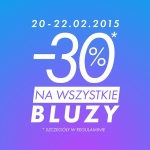 Sinsay: 30% zniżki na wszystkie bluzy