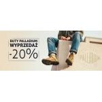 Sklep Luz: wyprzedaż 20% rabatu na buty marki Palladium