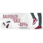 Sklep Luz: wyprzedaż 40% zniżki na obuwie marki Geox