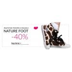 Slippersfamily: 40% zniżki na wszystkie trampki z kolekcji Nature Foot