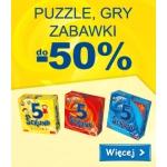 Smyk: do 50% zniżki na puzzle, gry i zabawki marki Trefl